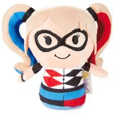 itty bittys dc super hero girls harley quinn stuffed animal