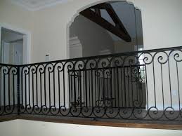 Iron Banisters And Railings Wrought Iron Stair Railing