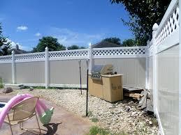 rainier lattice privacy fence vinyl lattice fence from vinyl