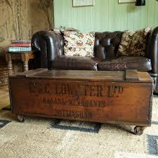 vintage storage chest tags vintage trunk coffee table steamer
