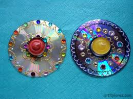 waste material craft from cd find craft ideas