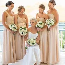 chagne bridesmaid dresses 2017 plus size bridesmaid dresses a line chiffon
