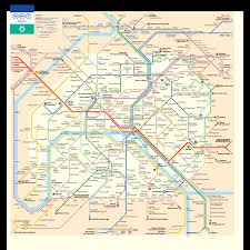 paris metro map and travel guide tourbytransit