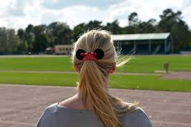 how to style hair for track and field disneyside sports style disney track field showcase at walt
