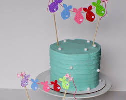 fish cake toppers fish cake topper etsy