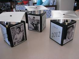 graduation favors to make personalized grad party centerpieces out of tissue boxes