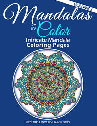 amazon com mandalas to color intricate mandala coloring pages