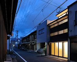 japanese town stylish small town house in japan