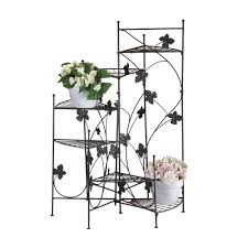 ivy design plant staircase stand shelves 6 heights 2 garden home