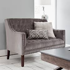Oxford Armchair Velvet Upholstered Armchair Oxford Armchair In Grey Brissi