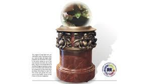 History Of Gazing Ball Restoration Revealed The Original Wizard Of Oz Crystal Ball