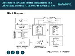 star delta starter control wiring diagram with timer wiring diagram