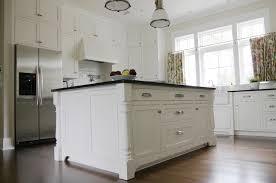 Urban Farmhouse Kitchen - white country kitchen with stacked shelves country kitchen