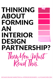 if you read one article on interior design business partnerships