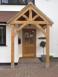Building Awning Over Door Timber Front Door Canopy Porch Bespoke Hand Made Porch Light