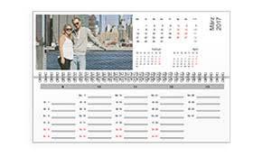 calendrier bureau calendriers plannings personnalisés avec photos et texte très