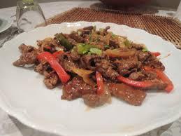 cuisine asiatique boeuf le canard du mékong cuisine du sichuan bœuf sauté au wok