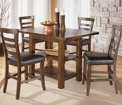 Printed Dining Chairs Furniture Counter Height Table Sets For Elegant Dining Table