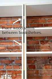 Ikea Billy Bookcase Extra Shelves Bookcase Ikea Billy Bookcase Hack To Look Like Built Ins Some