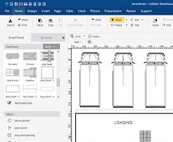 How To Make A Floor Plan On Microsoft Word by Warehouse Layout Design Software Free Download