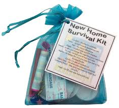 new home survival kit housewarming gift great alternative to a
