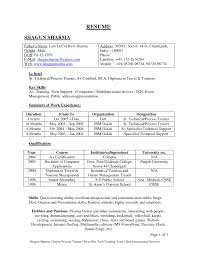 Best Resume Format Freshers Free Download by Resume Format Fresher It Resume Cover Letter Sample