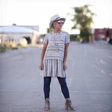 a dress over pants chic over 50