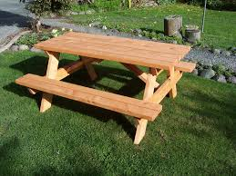 Build A Heavy Duty Picnic Table by Woodworking