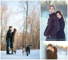 mn wedding photographers winter portrait session jeannine photography
