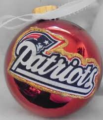 new patriots personalized ornament