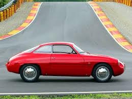 alfa romeo giulietta classic 1960 alfa romeo giullietta sz known as the coda tonda would be