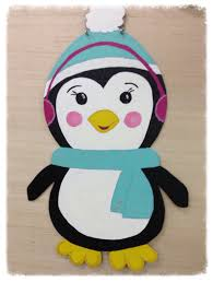 Door Decorations For Winter - penguin door hanger winter door hanger door furnitureflipalabama