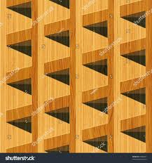 wood geometric abstract wooden textured geometric building blocks stock vector