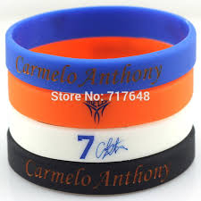 rubber wrist bracelet images 1pc carmelo anthony wristband silicone bracelets rubber wrist jpg