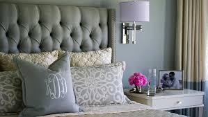 bedroom surprising diamond tufted steel grey velvet wingback