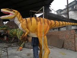 velociraptor costume animatronic size velociraptor costume 16 ft united