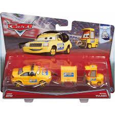 disney pixar cars character car 2 pack chef rpm and petrol pulaski