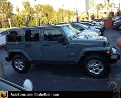 first real life shots of the 2014 jeep wrangler sahara in anvil