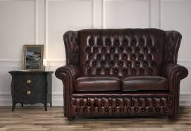 Leather Chesterfield Sofas - Henley leather sofa