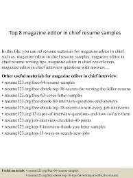 Mvc Resume Sample by Top8magazineeditorinchiefresumesamples 150723082807 Lva1 App6891 Thumbnail 4 Jpg Cb U003d1437640133