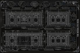 the resolute desk blueprints on behance