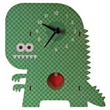 kids clock clockzilla pendulum clock