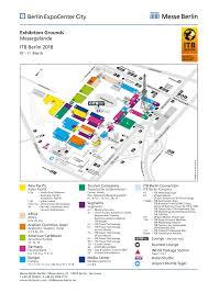 Berlin Map Itb Berlin Exhibition Grounds