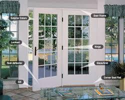 Patio Door Sill Patio Door Styles Tips For Ordering