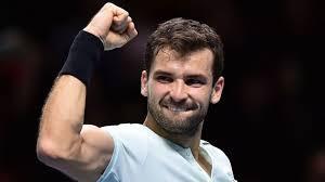 grigor dimitrov grigor dimitrov ready for final with david goffin at atp finals in