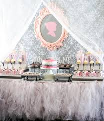 Tutu & Silhouette Baby Shower Theme Baby Shower Ideas