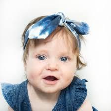 baby headband shibori baby headband the cloth co