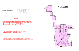 Venice Florida Map by Sarasota County Fl Supervisor Of Elections