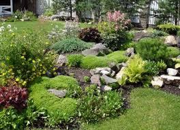 Small Rock Gardens by Exterior Small Rock Front Yard Garden Design Rock Garden