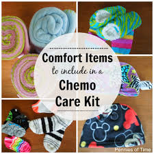 service project for kids comfort items to give to cancer patients